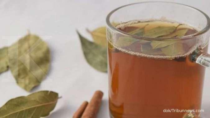 Teh daun salam dengan kayu manis bisa membantu menurunkan asam lambung tinggi