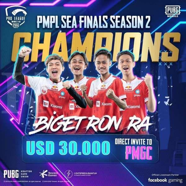 Bigetron RA di PMPL SEA Final Season 2