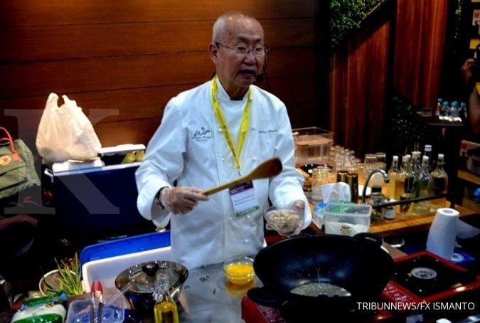 Bersama FiberCreme, William Wongso meluncurkan lauk siap santap
