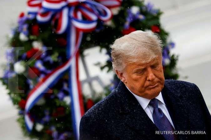 Ogah keluar dari Gedung Putih, Trump tunggu putusan Electoral College