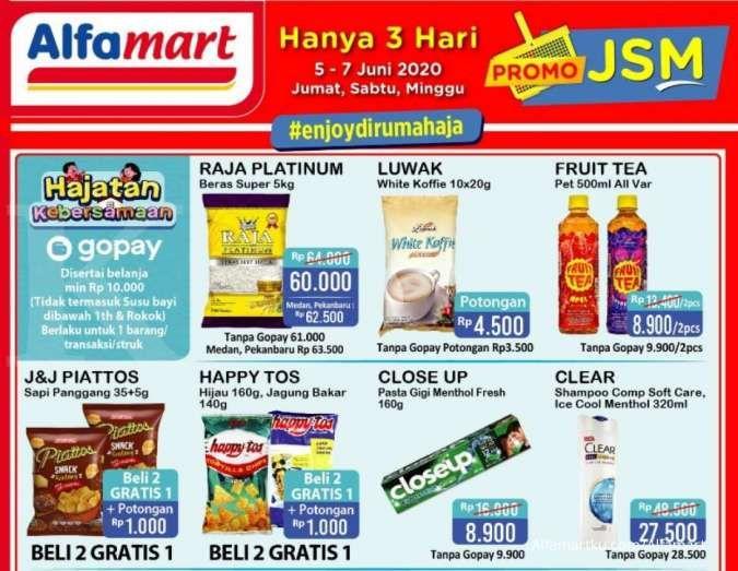 Promo JSM Alfamart 5-7 Juni 2020, baru mulai!