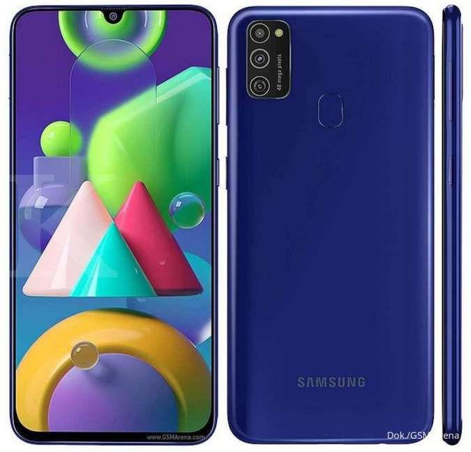 Punya baterai 6.000 mAh, harga Samsung Galaxy M21 kini makin murah