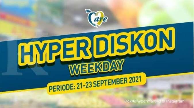Promo Hypermart terbaru 21-23 September, beli banyak lebih hemat selama 3 hari