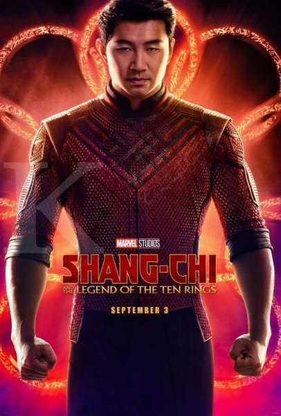 Poster film Shang-Chi and the Legend of the Ten Rings dari Marvel Studios.