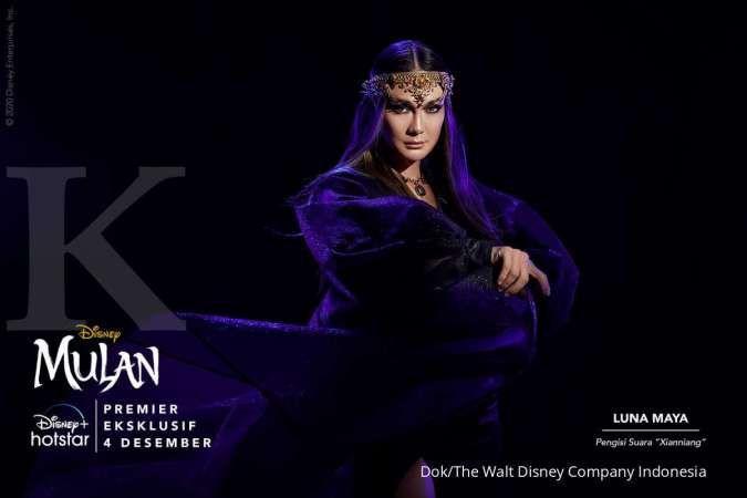 Film Mulan akan tayang di Disney+ Hotstar, ini kesan Luna Maya sebagai pengisi suara