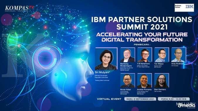 Dukung Transformasi Digital, IBM Akan Adakan Partner Solutions Summit 2021