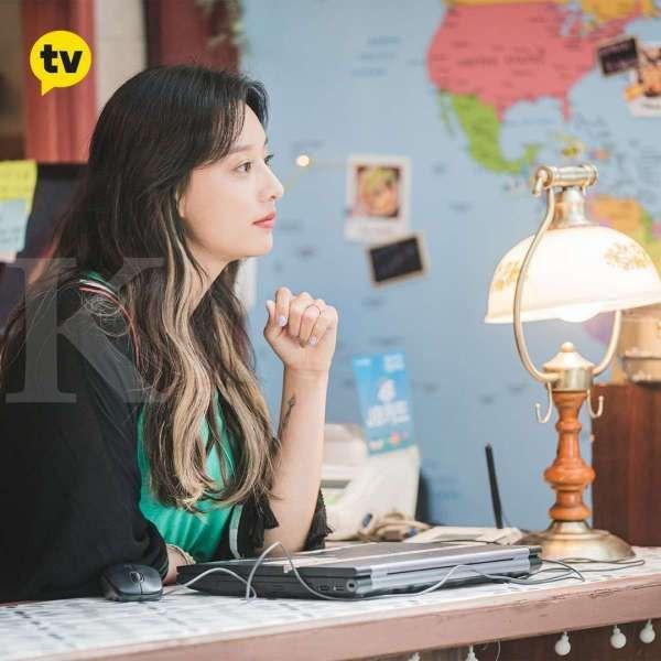 Kim Ji Won di drama Korea terbaru City Couple's Way of Love: My Loveable Camera Thief.