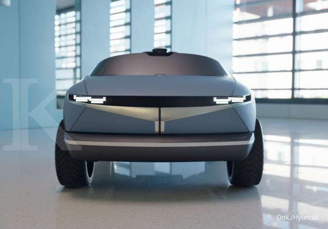 Hyundai rilis mobil listrik terkecil di dunia, berkonsep Hyundai EV 45
