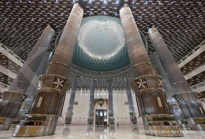 Masjid Istiqlal buka selama Ramadan dengan kapasitas 30%