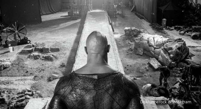 Black Adam selesai syuting, Dwayne Johnson akui bangga bintangi film ini