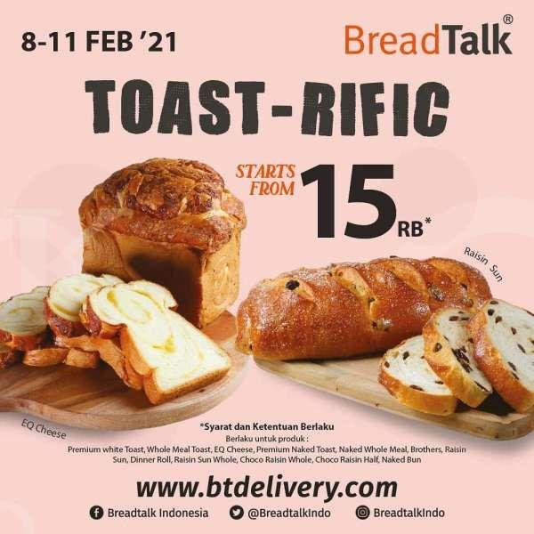 Promo BreadTalk periode 8-11 Februari 2021