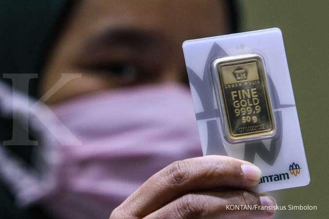 Selisih harga emas hari ini dan harga buyback menipis, Rp 97.000 per gram (15/9)
