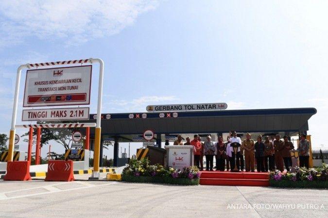 Jokowi: Lampung-Palembang tersambung jalan tol Juni 2019