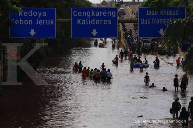 Untuk pantau banjir Jakarta, follow akun-akun Twitter ini