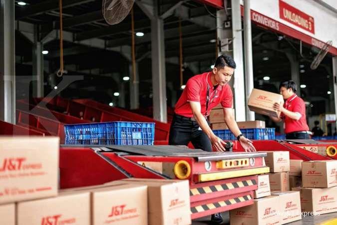 Pengiriman barang J&T Express mencapai 2,5 juta paket per hari