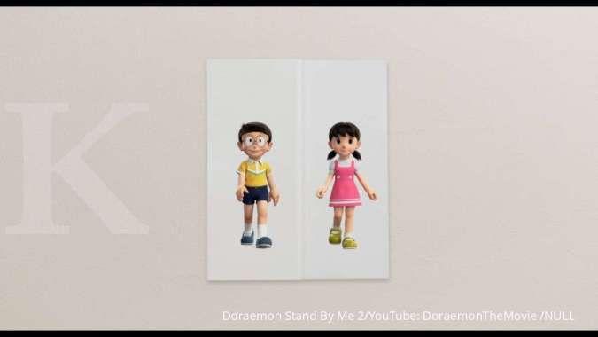 PV Baru Film Doraemon Stand By Me 2 tampilkan hubungan rumit Nobita dan Shizuka