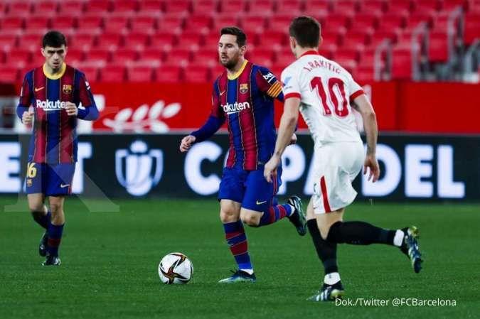 Jelang laga Sevilla vs Barcelona di La Liga Spanyol