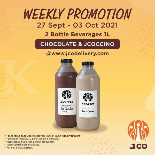 Promo J.CO mingguan 27 September-3 Oktober 2021