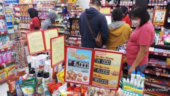 Minimarket kebal krisis, pendapatan Alfamart (AMRT) dan Alfamidi (MIDI) tetap naik