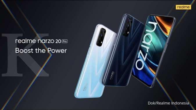 Akhirnya rilis di Indonesia, ini dia spesifikasi dan harga Realme Narzo 20 Pro