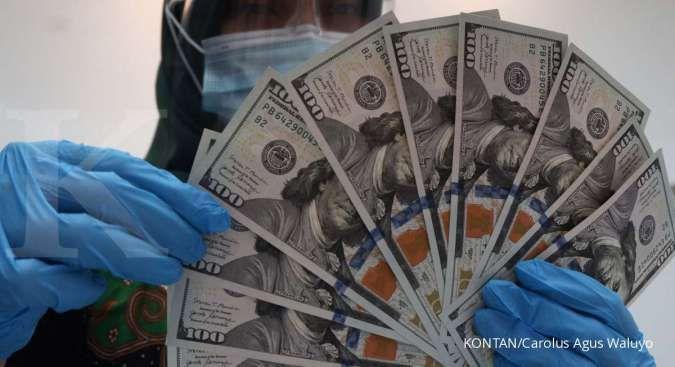 Kurs dollar-rupiah di BRI hari ini Senin 8 Februari 2021