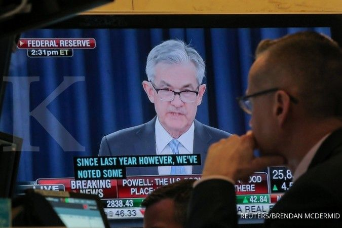 Meski tetap akan minus, Fed kini lebih optimistis memproyeksi ekonomi AS