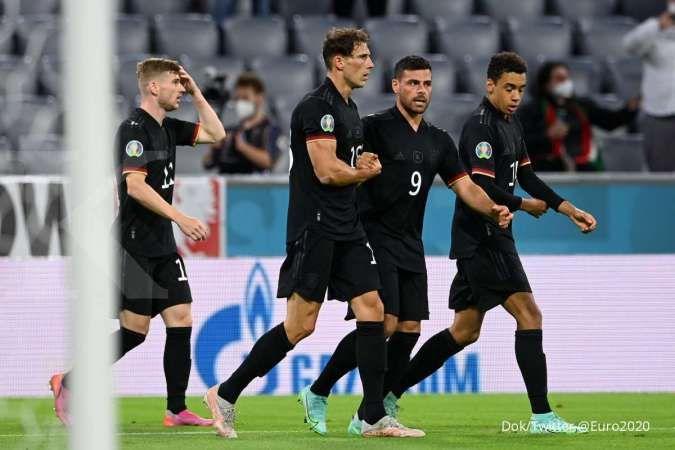 Hasil Euro 2020 Jerman vs Hungaria: Seri 2-2, Magyarok imbangi kekuatan Der Panzer