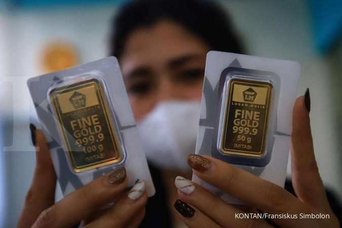 Harga emas LM Antam hari ini naik Rp 9.000 per gram, Kamis 21 Januari 2021
