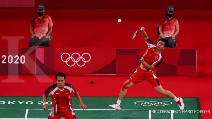 Jadwal badminton Olimpiade Tokyo 2020, Kamis (29/7), ganda putra RI di perempat final