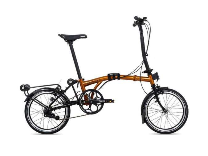3 Mode lipatan, ini harga sepeda lipat Pacific Pithon M320 VR terkini