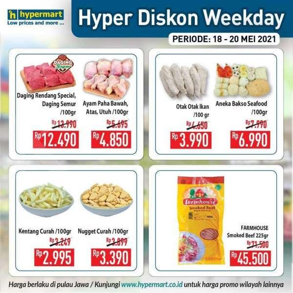 Baru rilis! Promo Hypermart weekday 18-20 Mei 2021, Hyper Diskon