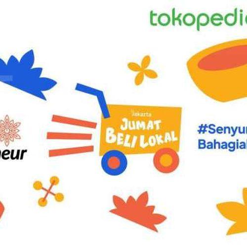 Pemprov DKI & Tokopedia Luncurkan Jumat Beli Lokal Dorong Pemasaran Produk UMKM Jakarta
