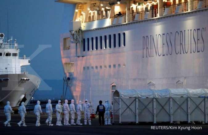 Kasus virus corona di kapal pesiar Jepang bertambah menjadi 175 orang
