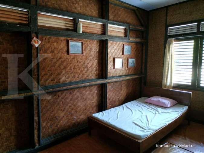 Ini penampakan kamar yang kerap ditiduri Presiden Soeharto jika berlibur ke Peucang