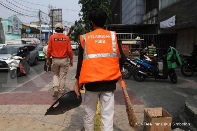 Denda pelanggaran protokol kesehatan di DKI Jakarta terkumpul Rp 5,7 miliar