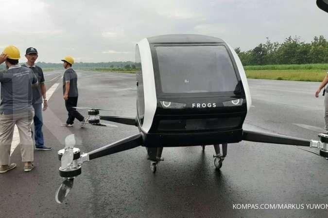 Ini penampakan taxi drone pertama di Indonesia
