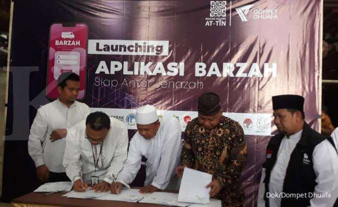 Dompet Dhuafa launching aplikasi Barzah pertama di Indonesia