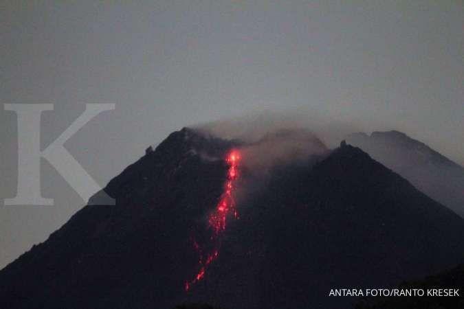 Dalam sehari, Gunung Merapi keluarkan empat kali awan panas dan 19 guguran lava pijar