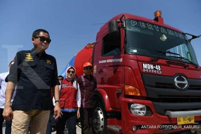 Antisipasi pemudik yang belum ke Jakarta, Menteri Jonan pastikan layanan SPBU