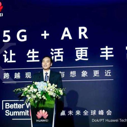 Huawei Rilis Buku Putih AR, Elaborasikan Keunggulan-keunggulan 5G + AR
