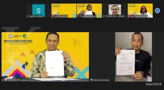 Dukung lulusan siap kerja, Ultra Voucher gandeng Politeknik LP3I Jakarta