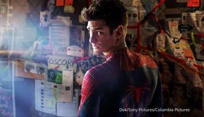 Andrew Garfield pemeran Spider-Man.