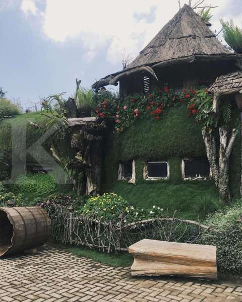 Harga tiket terjangkau, Farmhouse Lembang cocok untuk wisata akhir pekan