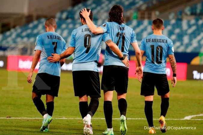 Hasil Copa America 2021 Bolivia vs Uruguay: La Celeste libas skuad La Verde 0-2