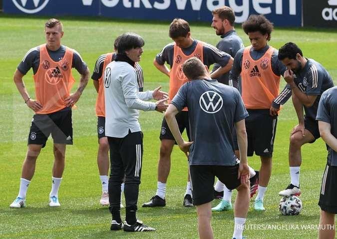 Jelang laga Jerman vs Latvia dalam uji coba jelang Euro 2021