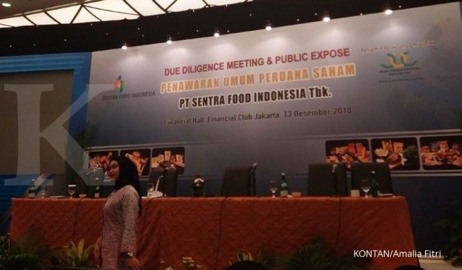 Pendapatan turun 23,85%, Sentra Food (FOOD) catat rugi Rp 4,86 miliar di kuartal III