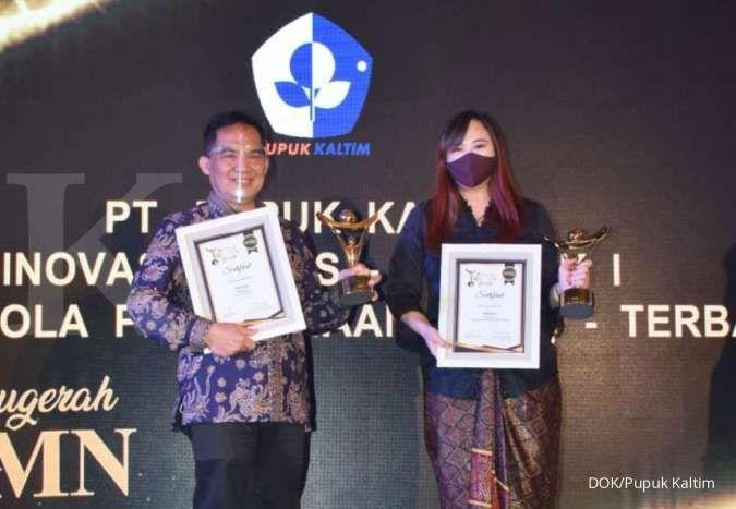 Pupuk Kaltim raih 3 penghargaan dalam ajang 9th Anugerah BUMN 2020