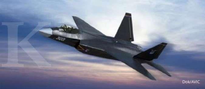 Mengenal FC-31, jet tempur siluman China yang kelak berbasis di kapal induk