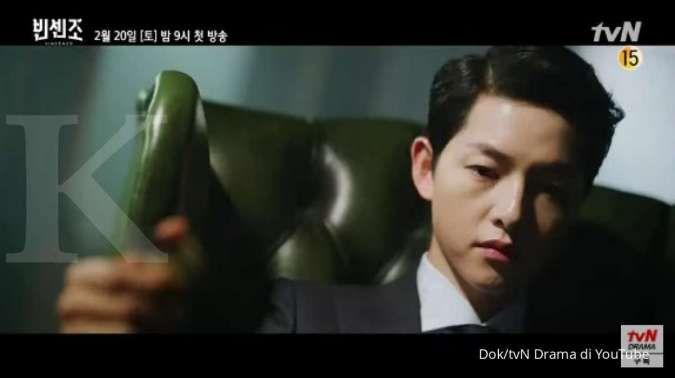 Drama Korea terbaru Song Joong Ki rilis teaser, Vincenzo siap tayang Februari di tvN