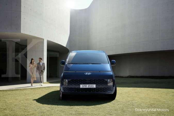 Hyundai Staria resmi meluncur, usung konsep mobil PBV futuristik
